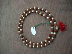 Rudraksha Pearl Mala Yoga Meditation Prayer Japa Mala (108+1) Beads