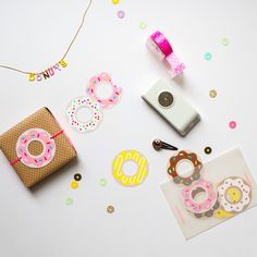 Donut Printables on Oh Happy Day