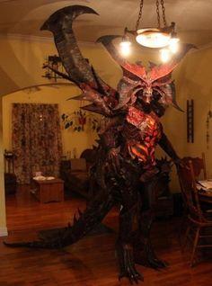 Diablo...in their kitchen! lol