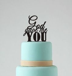 1pc Party Supplies FOLLOW YOUR DREAMS Words Text Script Cake Topper Pick