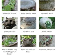 Hypertufa projects are some of the most fun (and fascinating) garden art; use your imagination, and get inspired...