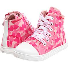 Agatha Ruiz De La Prada Kids - high tops. :) Prada, Ladies Shoes, Love Heart, High Tops, Coaching, High Top Sneakers, Youth, Hearts, Pink