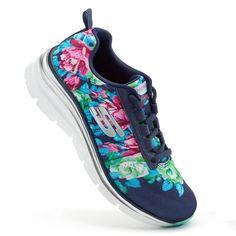 Skechers Fashion Fit Women's Floral Athletic Shoes, Size: