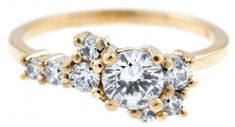 Diamond Cluster Ring by Bario Neal