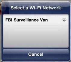This is gonna be the name of my next wireless network