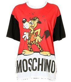 Leopard Dog cotton-jersey t-shirt
