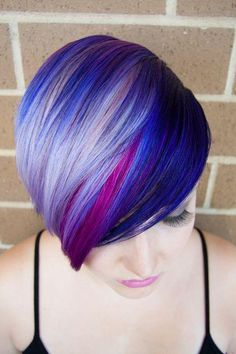 Loving this violet mix.