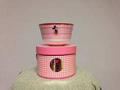 Best of Mickey bowl: Pretty Pink