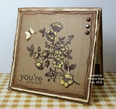 MMTPT214, FS291, You're on my Mind by kokirose - Cards and Paper Crafts at Splitcoaststampers
