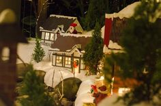 miniature village Miniature Houses, Gingerbread, Miniatures, Photoshoot, Christmas Ornaments, Holiday Decor, Home Decor, Xmas Ornaments, Homemade Home Decor