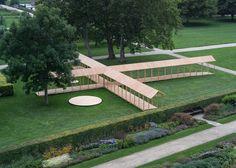 King's Garden Pavilion / Krupinski/Krupinska Arkitekter