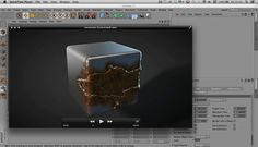 In this tutorial we use X-Particles and Cinema 4d to create corrosion effects.