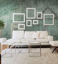 Panoramic wallpaper TICKET Military Collection by N.O.W. Edizioni