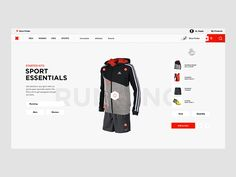 Swapper of for E-commerce design by Fantasy swipe ui swapper sports shopping selector picker clothing ux ecommerce Best Web Design, Web Design Trends, Page Design, Website Design Layout, Web Layout, Fashion Web Design, Ui Design Inspiration, Design Ideas, Ui Web