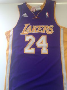 Adidas Kobe Bryant Los Angeles Lakers  NBA  Basketball Jersey Size M Youth  from  20.0 017e1efc6
