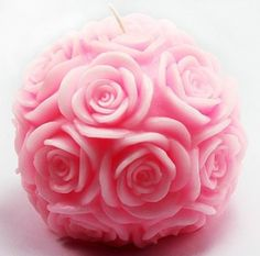 Allforhome(TM) Ball of Rose Candle DIY Mold Silicone Handmade Soap Mold Candle Mould DIY Candle Making Mold *** See this great product.