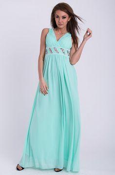 PINK BOOM SUKIENKA - MIĘTOWA  #modadamska #sukienkikoktajlowe #sukienkiletnie #sukienka #suknia #sukienkiwieczorowe #sukienkinawesele #allettante.pl