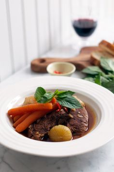 Vietnamese Beef & Carrot Stew #Vietnamese