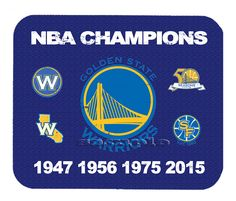 Item#493 Golden State Warriors Championship Distressed Banner Mouse Pad #GoldenStateWarriors