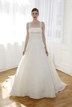 Truly Zac Posen Bridal Spring 2017 | #BridalFashionWeek #WeddingDress [Photo: George Chinsee]