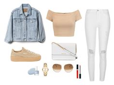 """""""Untitled #1297"""" by alex-gucka ❤ liked on Polyvore featuring Alice + Olivia, Gap, River Island, Puma, Michael Kors, Chloé, MICHAEL Michael Kors and Christian Dior"""