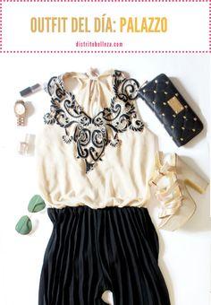 ¿Sabes qué es un Palazzo? Te lo presentamos en nuestro #outfit del día, perfecto para #primavera :)