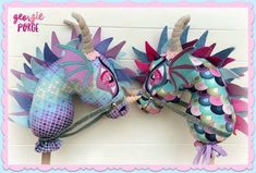 WhimsyWoo All Fired Up PDF Pattern by WhimsyWooStables on Etsy