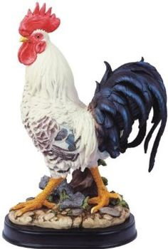 Amazon.com: Rooster Chicken Farm Animals Collection Decoration Figurine Collection: Home & Kitchen