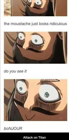 Zuckulemthos Memes de Shingeki No Kyojin \:v/ # Fanfic # amreading # books # wattpad Aot Funny, Stupid Funny, Funny Comics, Memes Estúpidos, Aot Memes, Funny Memes, Death Note Anime, Attack On Titan Meme, Anime Mems