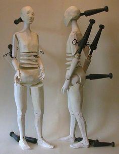 Bunraku style puppet