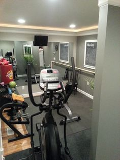 exercise room / office  dream home in 2019  office
