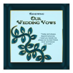 See MoreRENEWING WEDDING VOWS INVITATION - BLUE GOLD INVITATIONSYes I can say you are on right site we just collected best shopping store that have