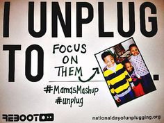 National Day of Unplugging: 9 Reasons I Choose to Unplug & You Should Too | Moms 'N Charge #unplug #mamasmashup