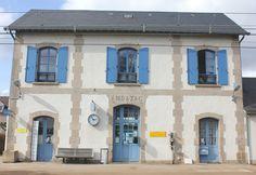 Beautiful Ambazac train station, France