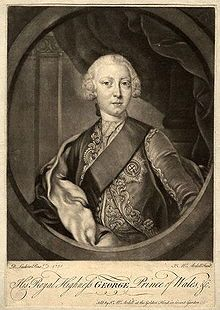 George III (1738 - 1820). Prince of Wales from 1751 to 1760, when he became king. He married Charlotte of Mecklenburg-Strelitz and had fifteen children.