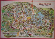 169 Best Six Flags Vintage images in 2019