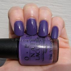 OPI Funky Dunky- can never find this color in any salon!