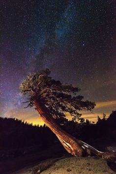 Olmsted Point and the milky way Photo by Alejandro Velarde -- National Geographic Your Shot