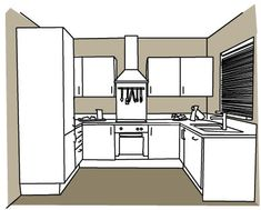 U shaped kitchen designs for small kitchens home for Kitchen ideas 5m x 3m
