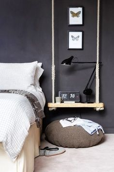 bedside swing table