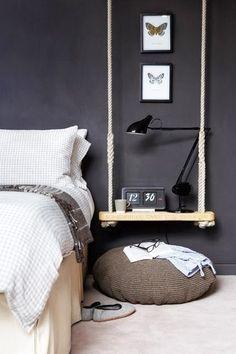 bedside swing table