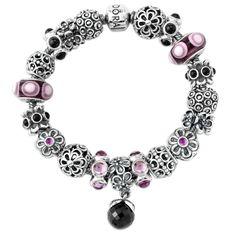 bracelets home pandora finished bracelets pandora midnight garden bracelet - Pandora Bracelet Design Ideas