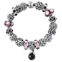 Pandora Bracelet Design Ideas using pandora charms Pandora Flower Designs In Abundance