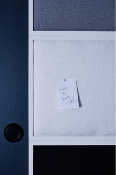 Panneau d'affichage et anti-bruit intérieur. GE-NIAL !