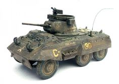 Warlord Games Bolt Action 28mm M8 GreyHound Armored Car