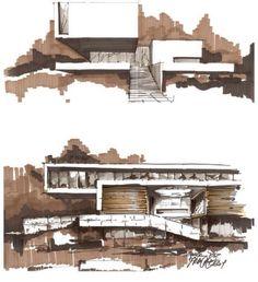 dibujo mata render arquitectura architecture