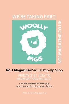 Woolly Pigs || No.1 Magazine's Virtual Pop-Up Shop || Friday 31st - August 3rd || We're delighted to be taking part in the online pop-up event hosted by No.1 Magazine!! Choose from lots of different Woolly Pigs products to complete your wardrobe this Autumn / Winter. We are joining so many other amazing brands to bring all our best products to you! #woollypigs #no1forshopping #onlineshopping  #autumnknitwear #fallknitwear #autumnaccessories #fallaccessories #winterknitwear #winteraccessories Wooly Pig, The Wooly, Contentment Quotes, Chunky Knit Scarves, Knitwear Fashion, Etsy Business, Winter Accessories, Handmade Clothes, Handmade Shop