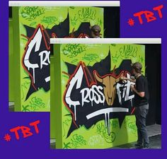 Throwback to Graffitiville's very first murals at Crossfit Copperbull. Shoutout to Drake and Beva for a fantastic job! You guys are awesome! Graffiti Artists, Throwback Thursday, Shout Out, Gym Motivation, Drake, Murals, Crossfit, Street Art, African