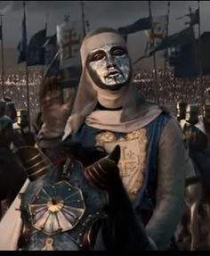 0:23/1:28 Screenshot by LightShot via yandex.com  from the video clip Kingdom of Heaven-King IV.Baldwin meets Saladin https://www.youtube.com/watch?v=1zO9zBvOzHA Standard YouTube License