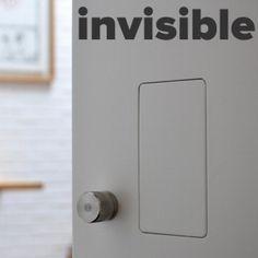 Tirador INVISIBLE, para puerta corredera